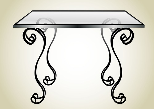 If You Want To Add Practical Glamour To Your Home A Glass Table Top Is The Way To Go