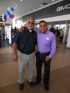 Jr and Tony Medina, the head of AF Body Shop