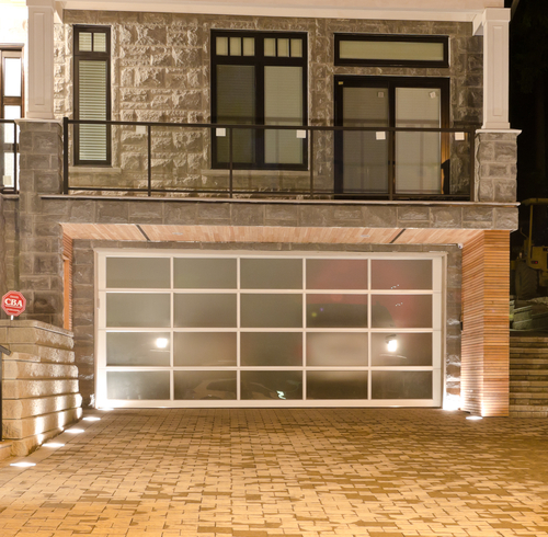Curb Appeal | Glass Garage Doors