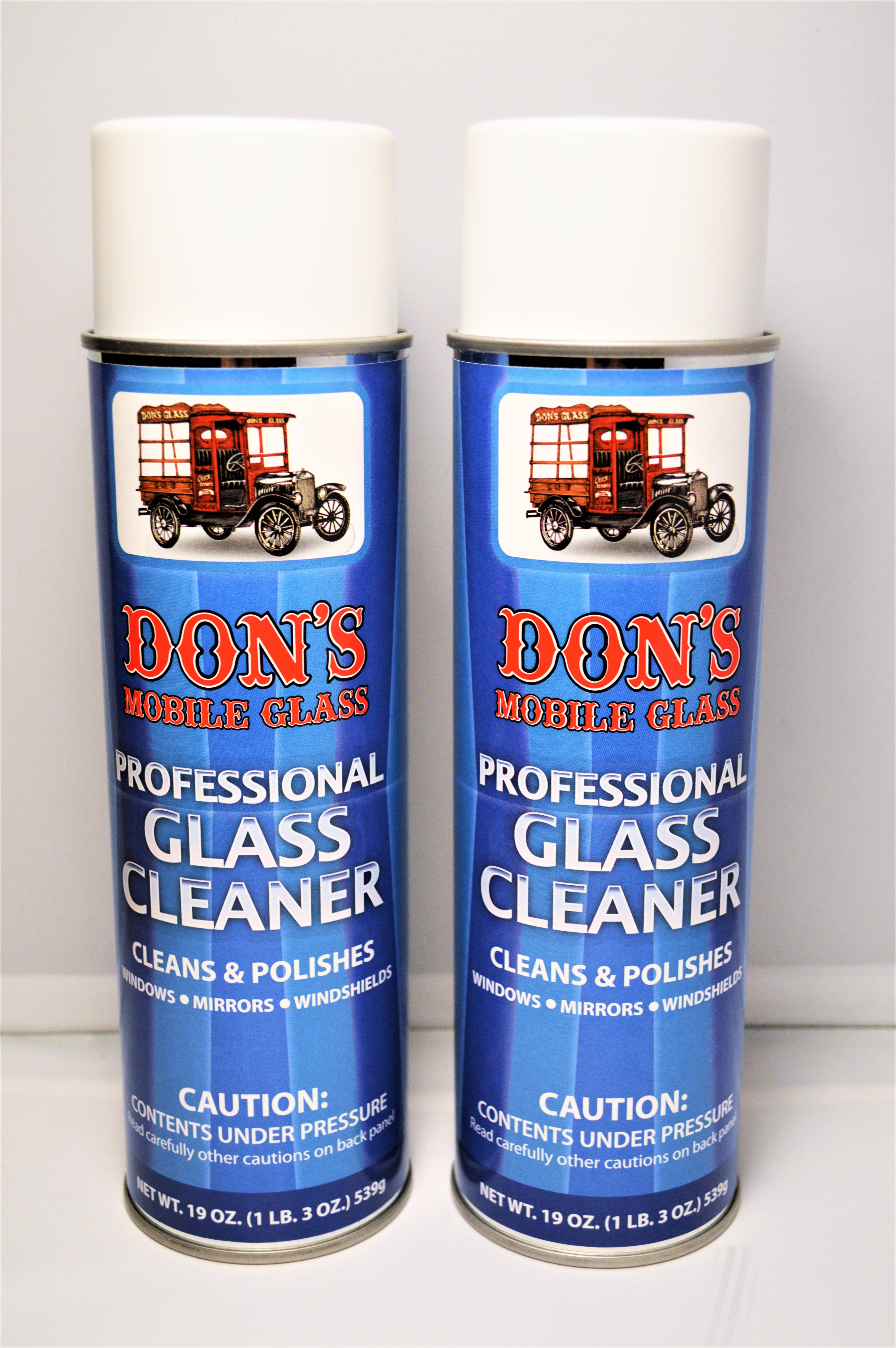 Don S Mobile Glass Professional Glass Cleaner 2 19oz